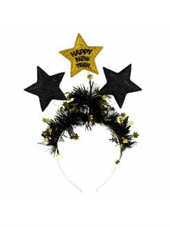 NYE Black & Gold Headband (1)