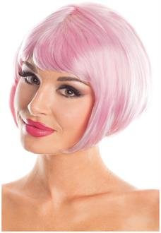 Solid Color Short Bob Wig