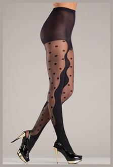 Opaque Black Pantyhose