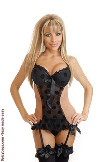 Polka Dot Pleasure Teddy