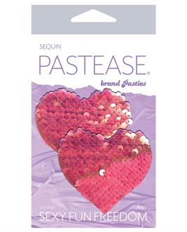 Pastease Color Changing Flip Sequins Heart - Pink