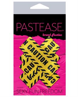 Pastease Caution Cross - Black/Yellow