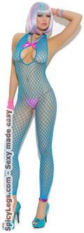 Crochet Footless Bodystocking
