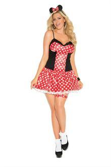 Miss Mouse - 3 pc. costume
