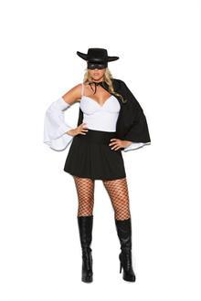 Daring Bandit - 4 pc. costume