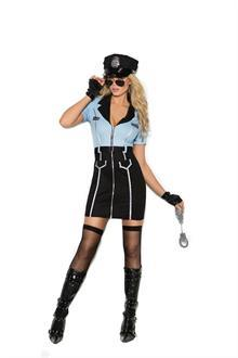 Officer Lawless - 4 pc. costume