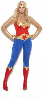 5 pc. Super Hero Costume