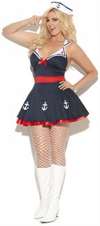 2 pc. Sailors Delight Costume