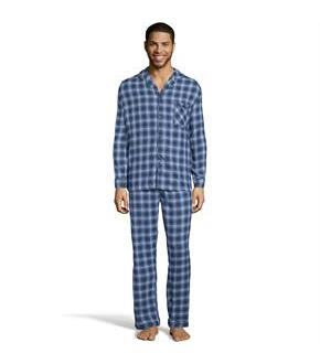 Hanes Men's Flannel Pajamas