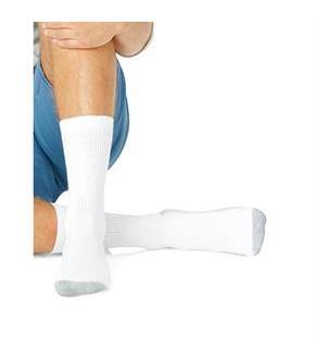 Hanes Men's Big and Tall Cushion Crew Socks 6-Pack