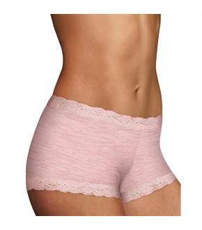 Maidenform Microfiber and Lace Boyshort
