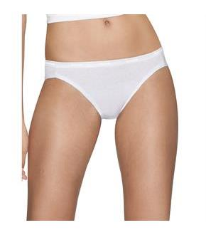 Hanes Platinum Women's Cotton Creations Bikini 4-Pack