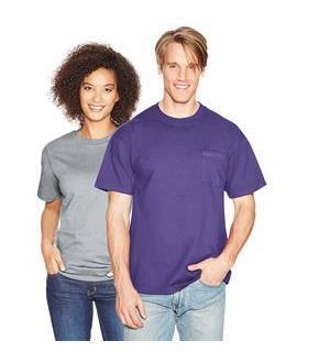 31fd4c7f8 Hanes Beefy-T Adult Pocket T-Shirt - SpicyLegs.com