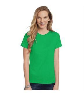Hanes Women's Relaxed Fit Jersey ComfortSoft Crewneck T-Shirt