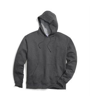 Champion Big & Tall Men's Pullover Fleece Hoodie with Contrast Liner