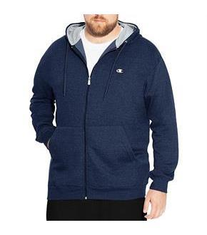 Champion Big and Tall Men's Zip Fleece Hoodie