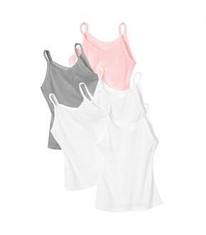Hanes Girls' Cami 5-Pack