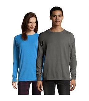 Hanes Men's ComfortWash Garment Dyed Long Sleeve Tee