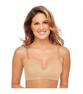 Hanes ComfortFlex Fit Natural Lift WireFree Bra