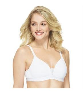 Hanes T-Shirt Soft Foam Wirefree Bra