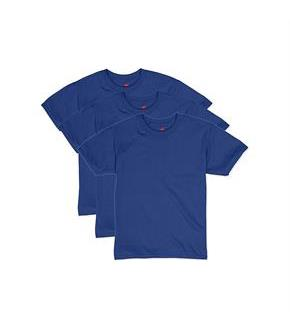 Hanes Boys' EcoSmart Short Sleeve Tee Value Pack (3-pack)