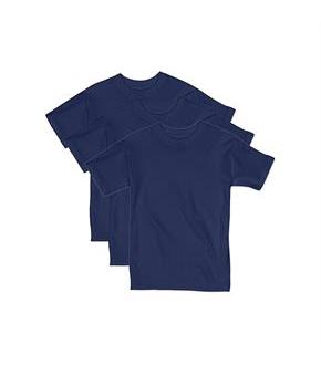 Hanes Boys' Beefy Short Sleeve Tee Value Pack (3-pack)