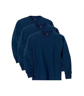 Hanes Boys' ComfortSoft Long Sleeve Tee Value Pack (3-pack)