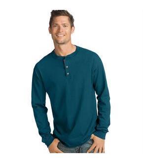 ce89836e55f9 Hanes Men's Beefy-T Long-Sleeve Henley - SpicyLegs.com
