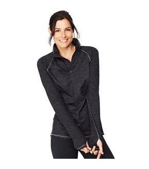 Hanes Sport&#153 Women's Performance Fleece Quarter Zip Sweatshirt