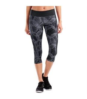 Hanes Sport Women's Performance Blocked Capri Leggings