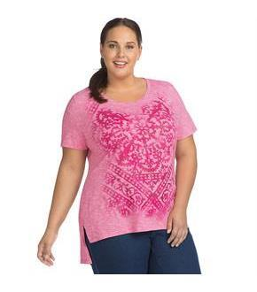 Just My Size Active Graphic Tunic