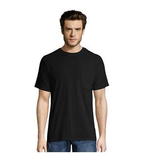 Hanes Men's X-Temp FreshIQ Workwear Pocket Tee Value 2-Pack