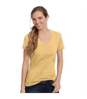 Hanes Women's Nano-T V-Neck T-Shirt