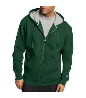 Champion Men's Powerblend Fleece Full Zip Jacket