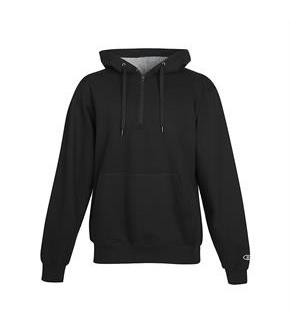 Cotton Max 1/4 Zip Hood