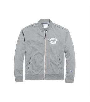 Champion Men's Heritage French Terry Warm-Up Jacket, Arch Logo