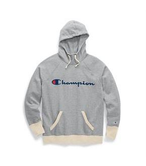 Champion Women's Powerblend Fleece Pullover Hoodie, Script Logo