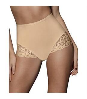 Bali Brief with Lace Firm Control 2-Pack