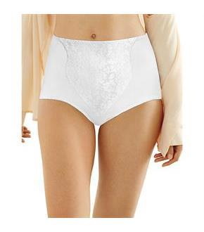 Bali Light Control Lace Panel Brief 2-Pack