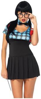 4 PC. Naughty Nerd dress