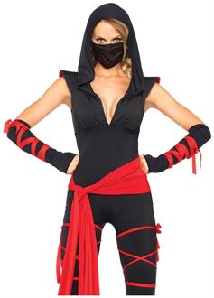 5 PC. Deadly Ninja jumpsuit