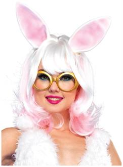 Bunny two-tone wig with latex ears
