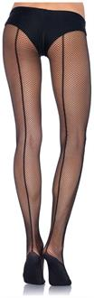 Professional backseam fishnet tights
