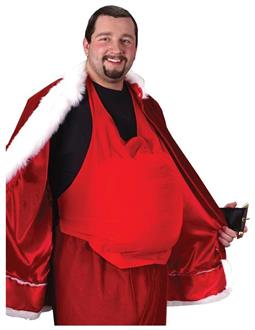 Santa Belly Costume Accessory