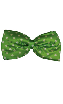 Polka dot Green Jumbo Bow Tie