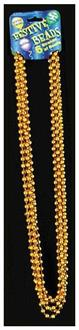 Gold Beads For Mardi Gras