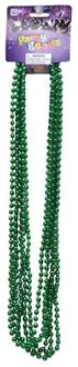 Green Beads For Mardi Gras