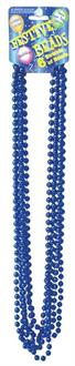 Royal Blue Beads For Mardi Gras