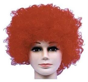 Curly Clown Red Budget Wig