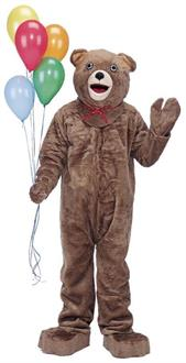 Teddy Bear Mascot Complete Costume